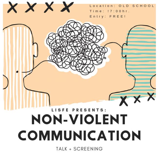 LISFE presents: Non-violent communication talk + screening